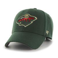 Minnesota Wild Cap NHL Eishockey Cap  47Brand Kappe Verstellbar