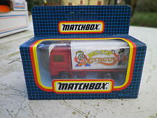 MATCHBOX 1991 MB 62 camion VOLVO CIRCUS Neuf boite jamais ouverte scellée