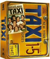 Taxi: The Complete Series (DVD, 2014, 17-Disc Box Set) 1 2 3 4 5 Sealed New US!!
