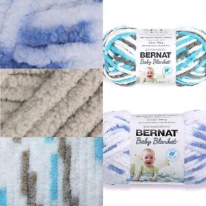 [BUY 10 GET 25% OFF] Bernat Baby Blanket 100g Yarn - Super Chunky Chenille Yarn