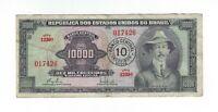 10 Cruzeiros Novos Brasilien 1967 C125 / P.189b - Brazil Banknote