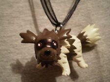 Pokemon Zigzagoon Anime Figure Charm Necklace Gift  Raccoon Collectible Jewelry