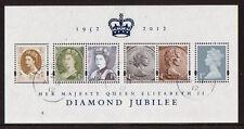 GREAT BRITAIN 2012 DIAMOND JUBILEE MINIATURE SHEET  FINE USED