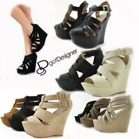 NEW Women's Fashion Dress Shoes Platforms Wedges Sandals Heels Summer Sexy HOT
