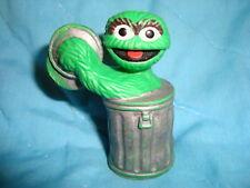 """Sesame Street OSCAR Vintage 80's Tara Toy PVC 2.5"""" Tall"""