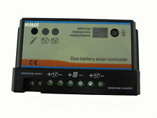 20A Duo-battery solar charge controller 12/24v,solar regulator regolatore solare