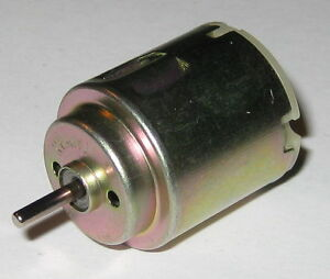Mabuchi RE-140 Motor - 3 VDC Low Voltage and Current Hobby Motor - 4000 RPM