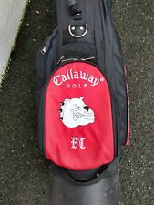 Callaway DT stand golf bag with rain hood.