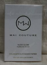 Mai Couture Foundation Powder Papier Flawless To-Go Nude Glow 50 Sheets
