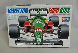 WOW! 1988 TAMIYA BENETTON FORD B188 GRAND PRIX RACE CAR 1/20 MODEL IN BOX #20021