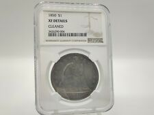 1850 NGC XF Cleaned Seated Liberty Dollar *Great Eye Appeal, Beautiful Coin!*