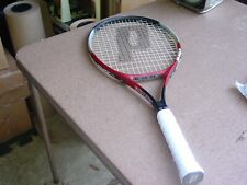 New listing Prince Equalizer Oversize Tennis Racquet 4 3/8 w Pro Overwrap