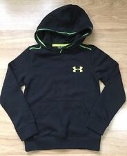 Under Armour Hoodie Youth XS Loose Black Lime Green NEW!!
