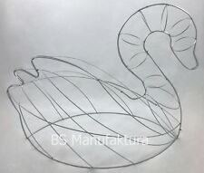 Topiary metal wire frame Swan live boxwood scupture