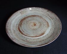 """Southern Potteries Blue Ridge:  Cool """"Rondelay"""" Luncheon Plate (13281)"""