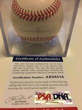 Harmon Killebrew Twins HOF Autographed Auto Baseball PSA Cert w/ Ball Cube