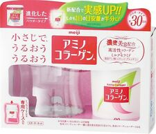 New Meiji Amino Collagen powder  30days (90g) Starter kit F/S From Japan