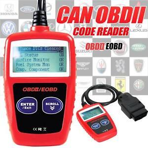 Car Fault Code Reader Engine Diagnostic Scanner Reset Tools OBD2 OBDII EOBD UK