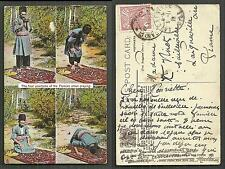 Persia Islam 4 positions of Praying Raphael Tuck stamp 1910