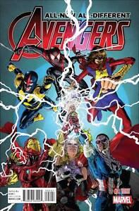 All-New All-Different Avengers #2 Jim Jimenez 1:25 Variant Cover Marvel 2015