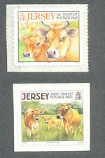 Jersey-Cows mnh 2 values mnh