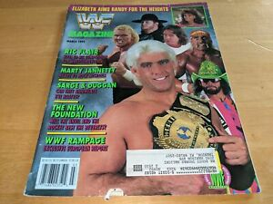 RIC FLAIR WWF MAGAZINE Wrestling March 1992 Issue Savage/Hogan/Undertaker RARE