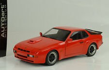 1980 Porsche 924 Carrera GT red 1:18 Autoart