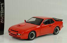 1980 Porsche 924 Carrera GT red rot 1:18 Autoart