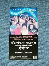"KAOMA Japan Only 1989 Tall 3"" inch CD Single DANCANDO LAMBADA"