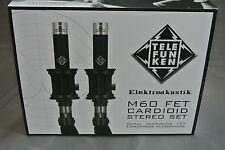 Telefunken M60 small capsule fet condenser microphone | cardioid | (stereo set)