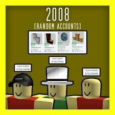 [ROBLOX] 2008 Random Accounts 0 - 10K