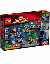 Lego Super Heroes 76018 Hulk Lab Smash New Sealed Retired