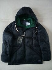 Mens Abercrombie & Fitch Water Repellent Quilted Hoodie Down Jacket Size M
