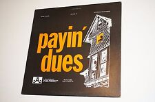 Vintage Record Album JA 1224 Payin Dues Volume 15 Play Along Jazz EX/VG