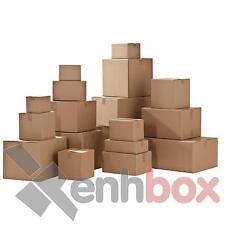 25 Cajas de cartón envío postal 50x35x15 ondulado sencillo