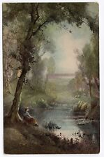 Postcard C W Faulkner &co painting Card no 1607 nice R38991