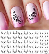 Angel Wings Nail Art Waterslide Decals - Salon Quality!