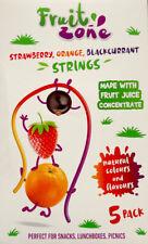 Fruit zone FRAISE ORANGE CASSIS cordes a Jus de Fruit Pack 100 g