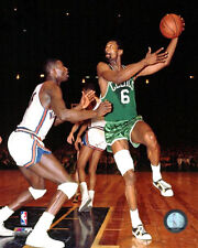 BILL RUSSELL Boston Celtics NBA Action c.1966 Premium POSTER Print