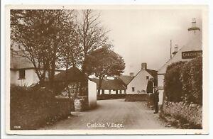 POSTCARDS-SCOTLAND-LETHAM-RP. Craichie Village.