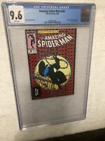 Amazing Spiderman (2006) #300 (CGC 9.6 WP) | 1st App venom | Rare Mini DVD Promo