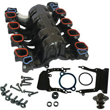 Intake Manifold W/ Gasket Thermostat O-Rings for Ford Mercury Lincoln 4.6L V8
