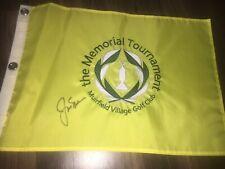 Jack Nicklaus Signed The Memorial Tournament Flag COA