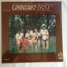 The Bluegrass Gospelairs First Vinyl LP Brand New Tin Ear Records 1983 Chicago