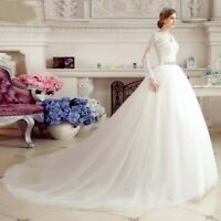 Brautkleid Hochzeitskleid Kleid Braut Langarm Babycat collection Schleppe BC695