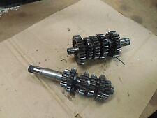 suzuki rm125 transmission gears shafts output drive shaft 1983 1984 1985 rm 125