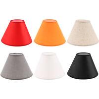 Paralume in Tessuto per lampada da tavolo o soffitto Classico in Diversi Colori