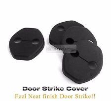 New Door Striker Cover Hook Garnish Black Molding For KIA 15-17 Sedona Carnival
