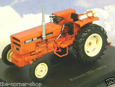 SUPERB U/H HACHETTE DIECAST 1/43 1973 RENAULT 551 TRACTOR IN ORANGE-RED TR42