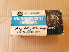Vintage Ge Incandescent Dimmer Di-51